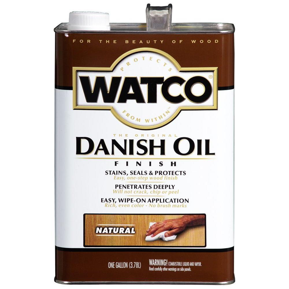 1 gal. Natural Danish Oil (Case of 2)