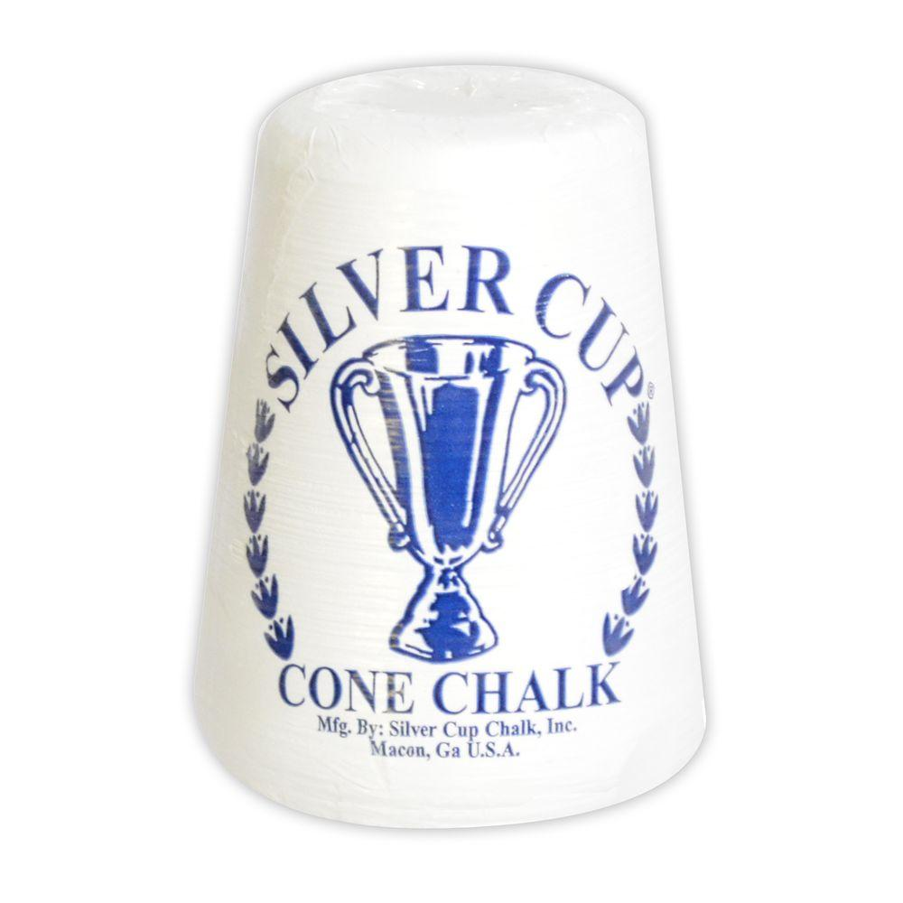 Blue Wave Silver Cup Cone Talc Chalk