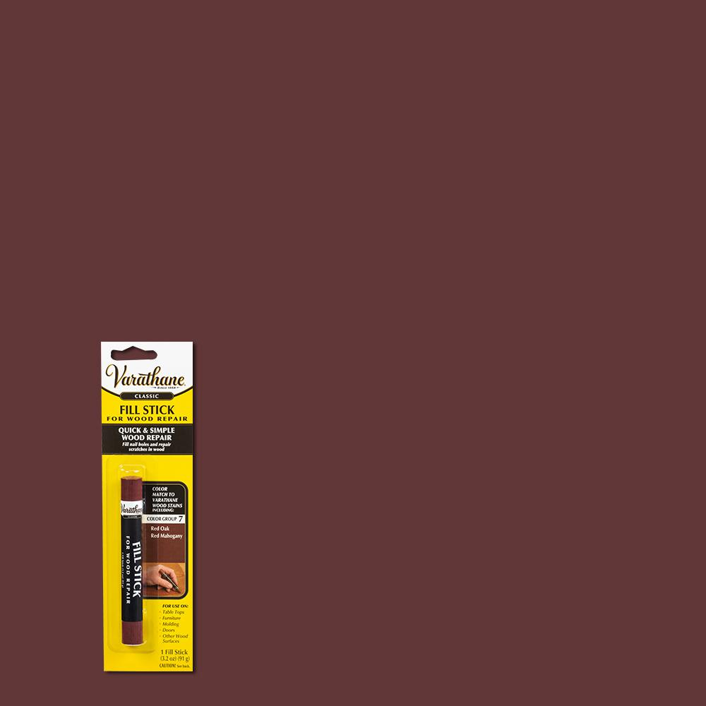 Red Mahogany Wood Fill Stick