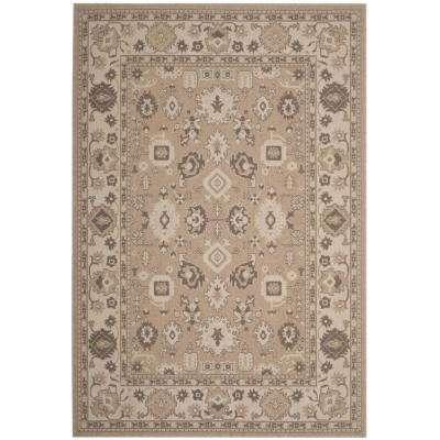 Essence Taupe/Natural 8 ft. x 10 ft. Area Rug