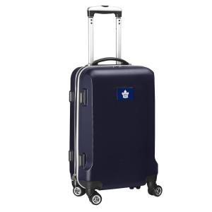 9ee0f00a01f8 Denco NHL Toronto Maple Leafs 21 in. Black Carry-On Spinner Softside ...