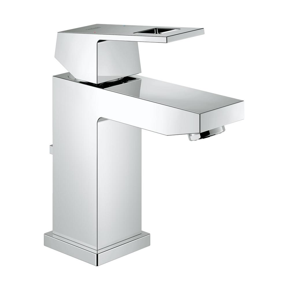 GROHE Eurocube Single Hole Single Handle Bathroom Faucet