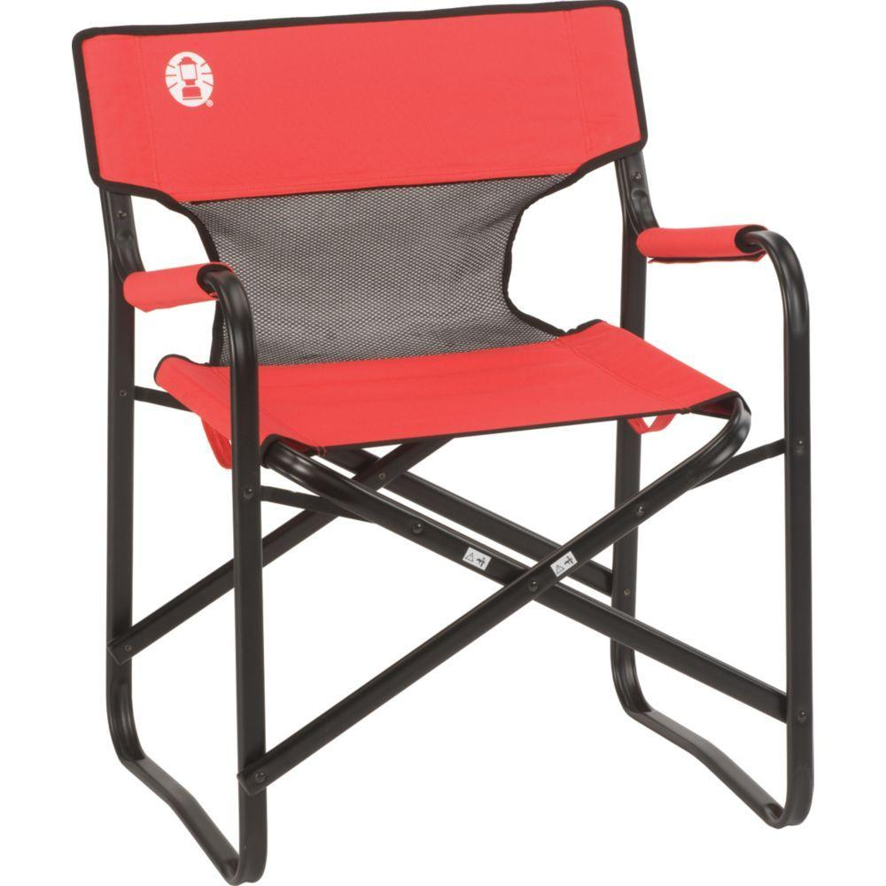 Coleman Steel Mesh Deck Chair