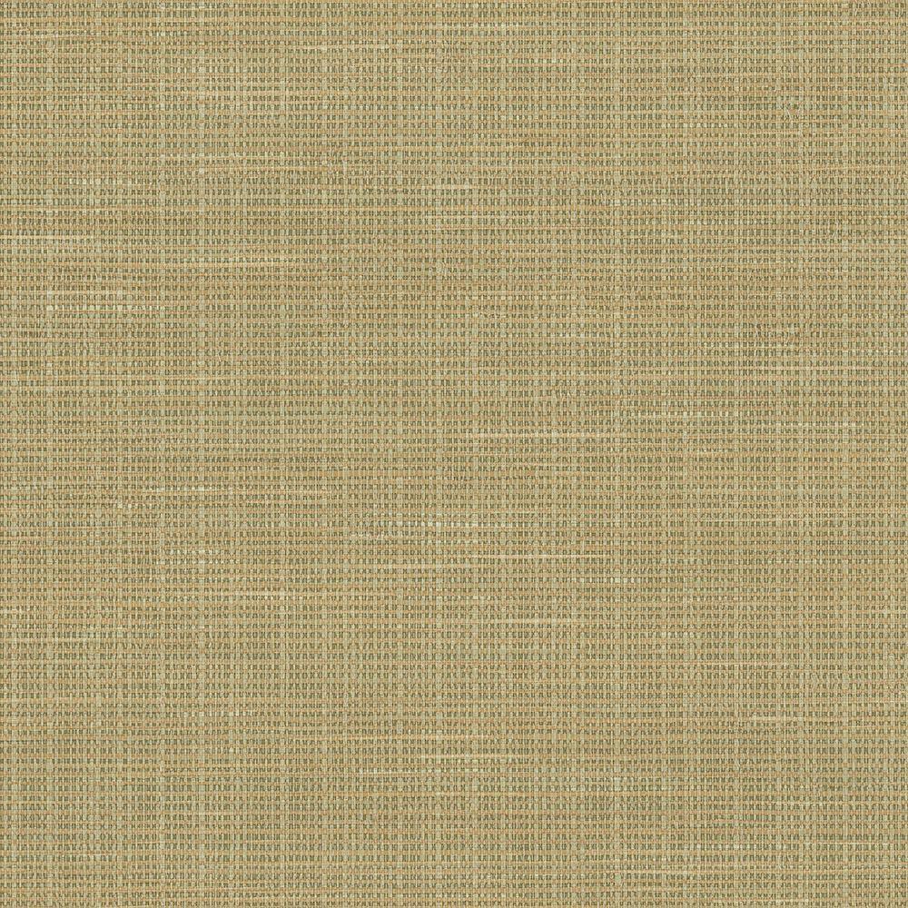 Faux Grasscloth Wallpaper: Chesapeake Kent Green Faux Grasscloth Wallpaper-MAN01693