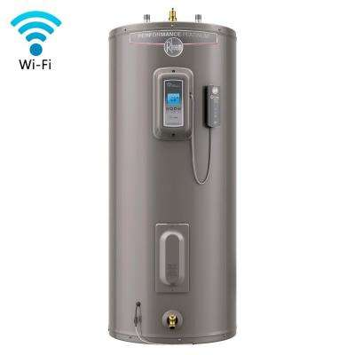 Performance Platinum 50 Gal. Tall 12-Year 5500/5500-Watt Elements Electric Water Heater with Wi-Fi Module Included