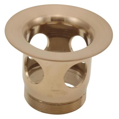 Drain Flange for Bathroom Sinks in Champagne Bronze