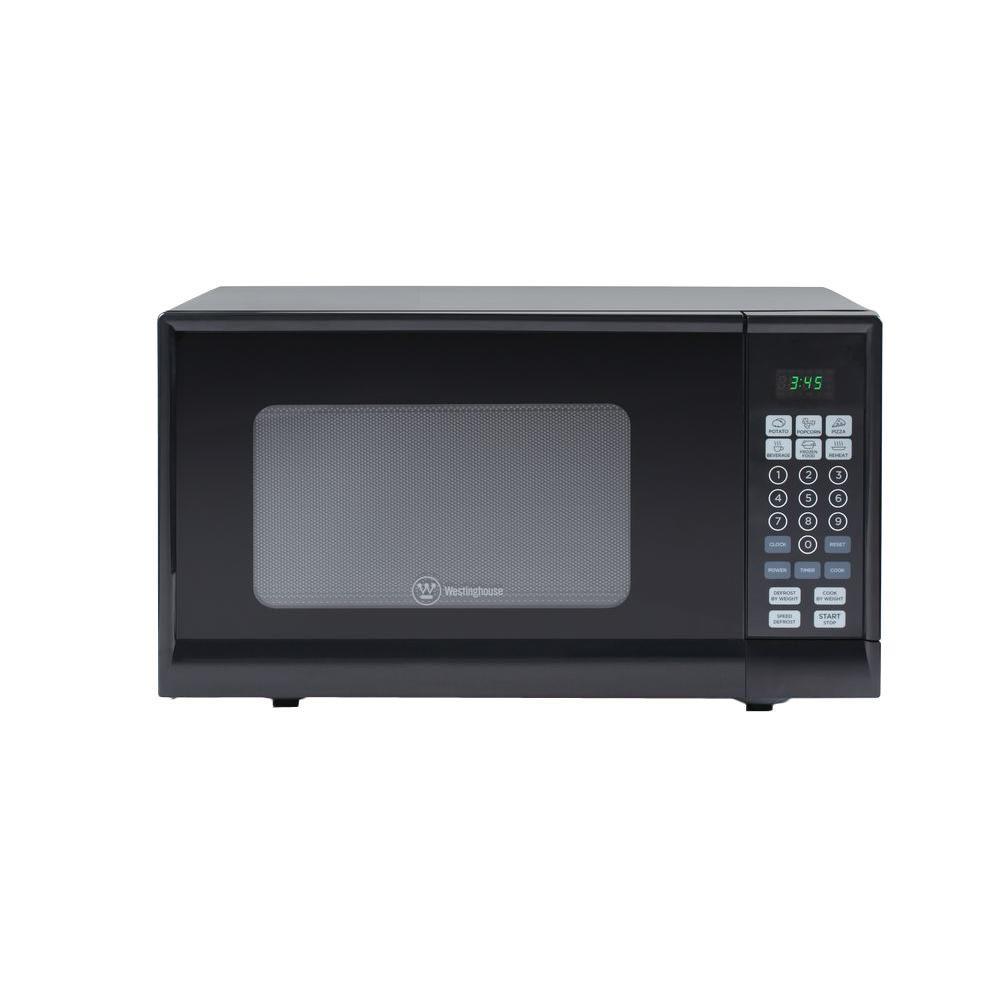 900 Watt Countertop Microwave In Black