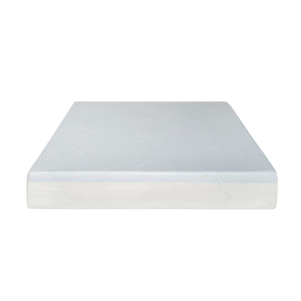 Divine Plush 8 in. California King Gel Foam Mattress
