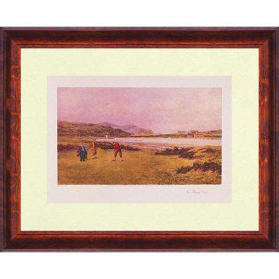 19.25.in x 27.in''The Putting Green'' By PTM Images Framed Printed Wall Art