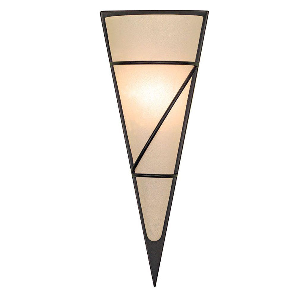 Eglo Pascal 1-Light Wall or Ceiling Antique Brown Light-DISCONTINUED