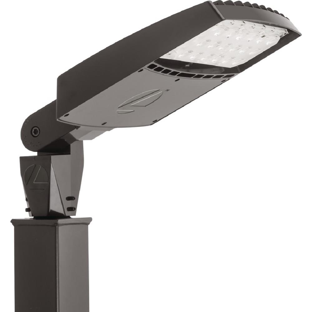 Size 1 Bronze 4000K Outdoor 40-Watt Integrated LED Flood Light