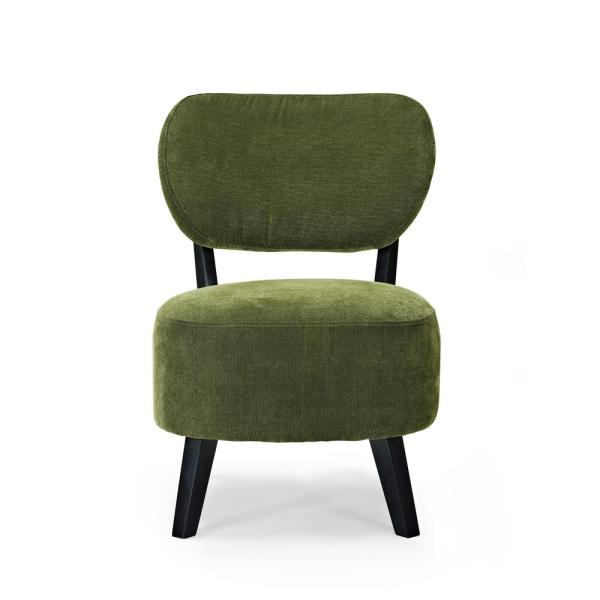 Charmant Undefined Sphere Green Accent Chair