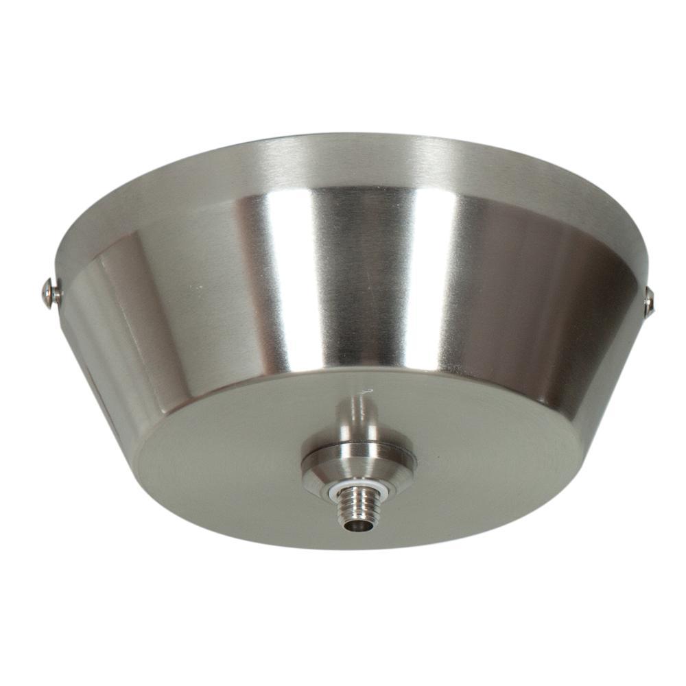 Access Lighting UniJack 1-Light Brushed Steel Spherical UniJack Mono-Pod Pendant