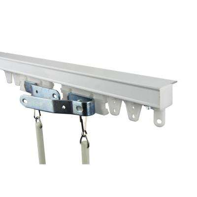 72 in. Commercial Ceiling Track Kit