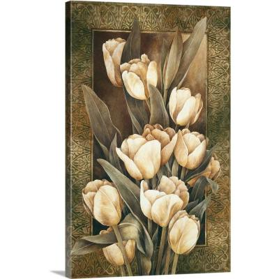 """Golden Tulips"" by Linda Thompson Canvas Wall Art"
