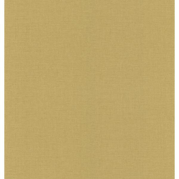 National Geographic Gold Linen Texture Wallpaper Sample