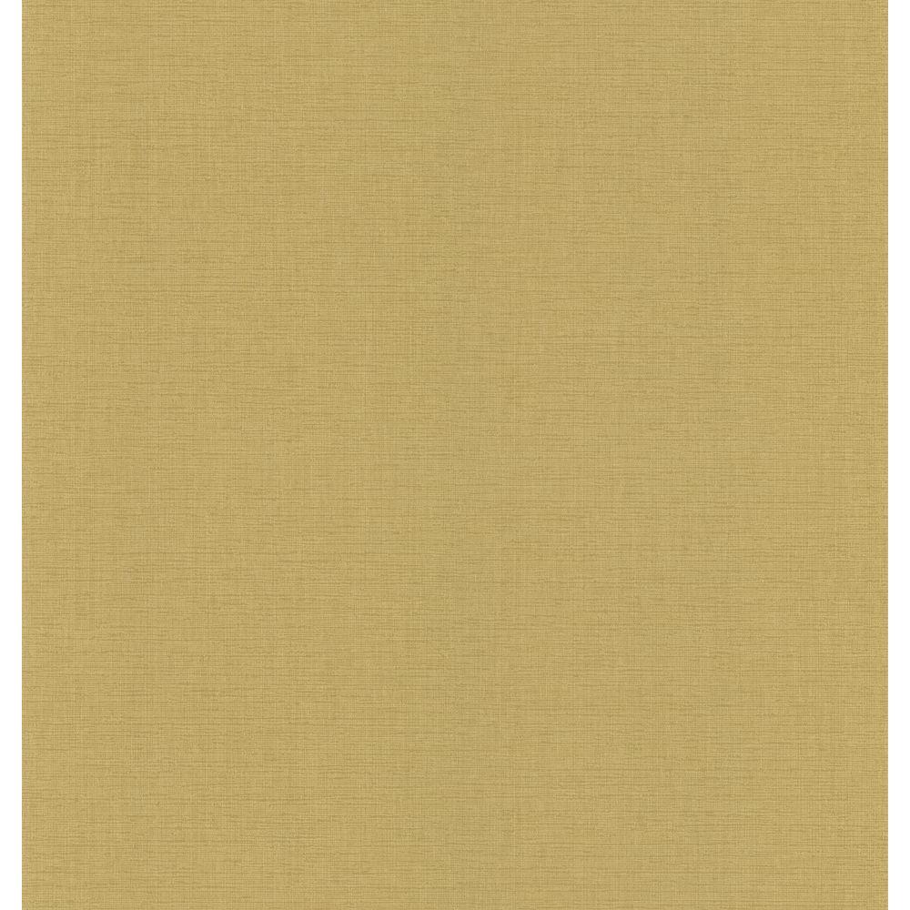 National Geographic Gold Linen Texture Wallpaper Sample NG45178SAM