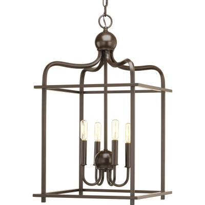 Assesmbly Hall Collection 4 -Light Antique Bronze Pendant