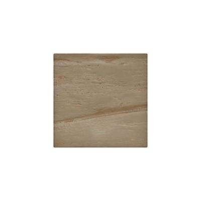 6 in. x 6 in. Riverwood Honey Dew Endurathane Faux Wood Ceiling Beam Material Sample