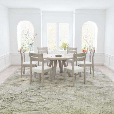Beaumont Sun Drenched Acacia Round Dining Table