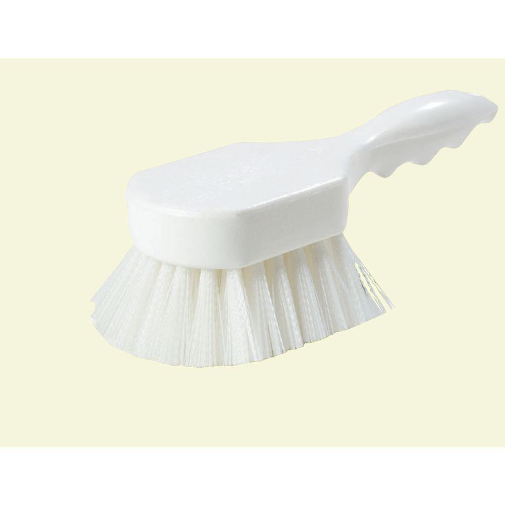 Carlisle 8 in. Floater White Scrub Brush (12-Pack)