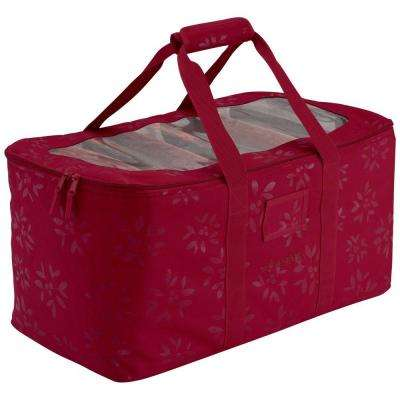 Cranberry Seasons Holiday Lights Storage Duffel