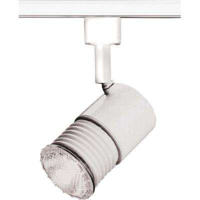 1-Light 2 in. White Mini Universal Holder Track Lighting Head