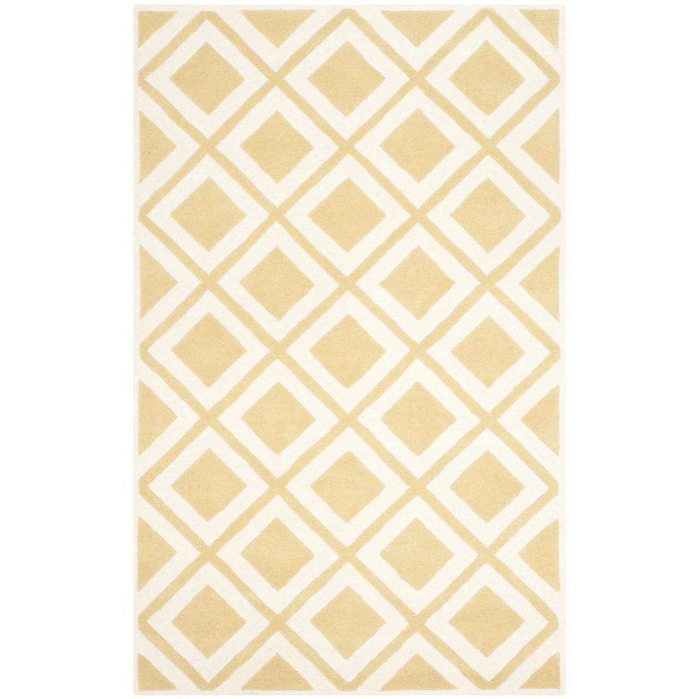 Chatham Gold/Ivory 5 ft. x 8 ft. Area Rug