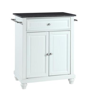 Cambridge Portable Kitchen Island with Granite Top