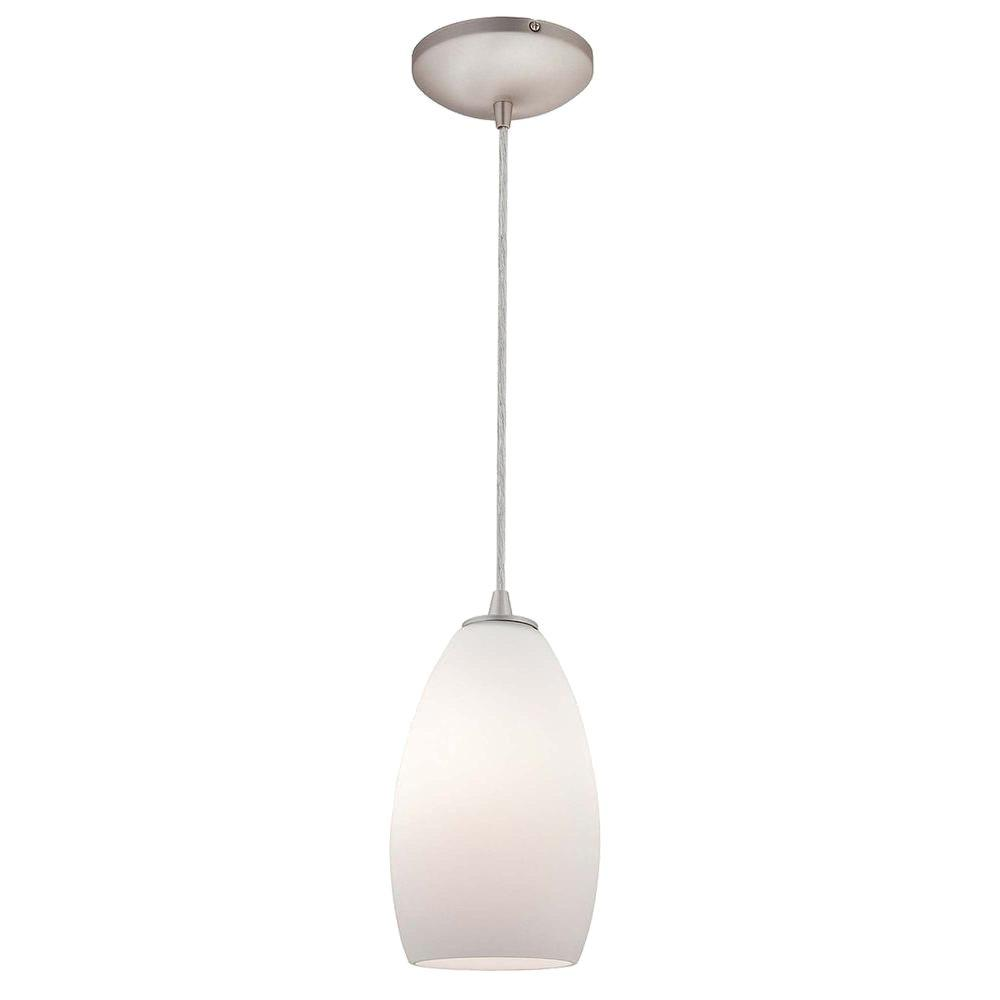 Access Lighting 1-Light Pendant Oil Rubbed Bronze Finish Opal Glass-DISCONTINUED