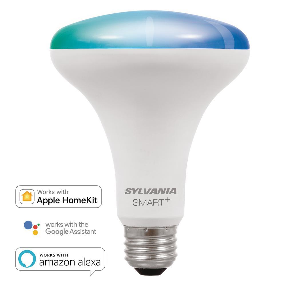 Smart Bluetooth 65 Watt Equivalent Full Color Br30 Led Light Bulb
