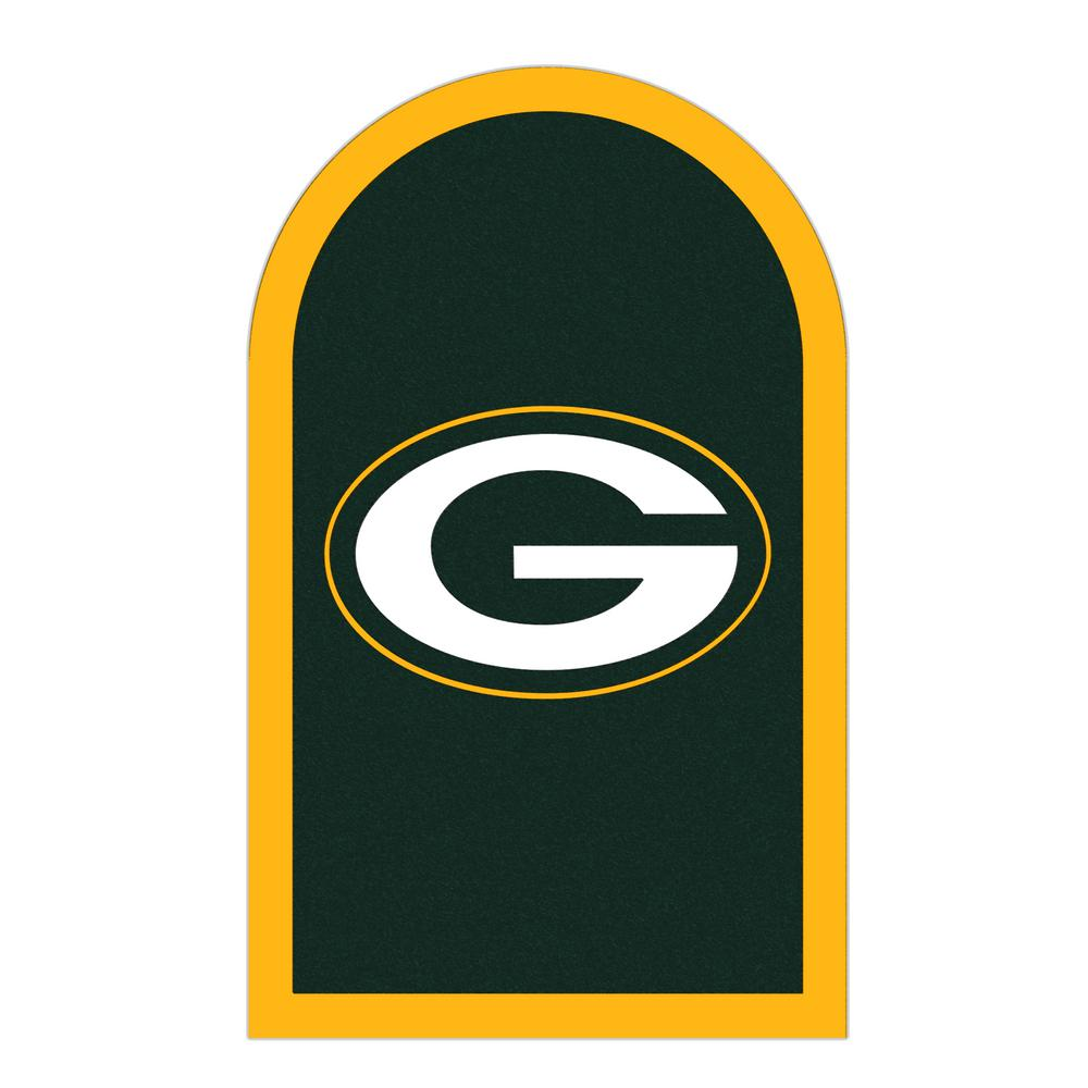 Applied Icon NFL Green Bay Packers Mailbox Door Logo Graphic
