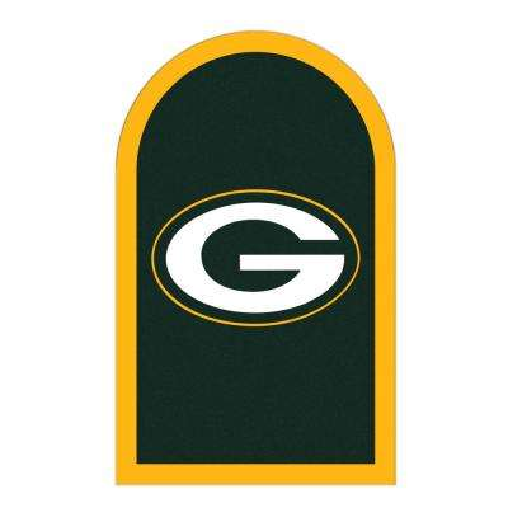 NFL Green Bay Packers Mailbox Door Logo Graphic