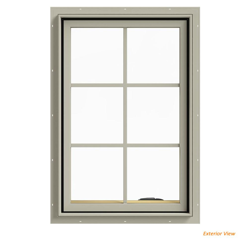 24 in. x 36 in. W-2500 Series Desert Sand Painted Clad