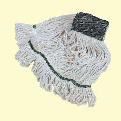 4-Ply Brick Pack Looped End Medium Cotton Wet Mop (Case of 12)