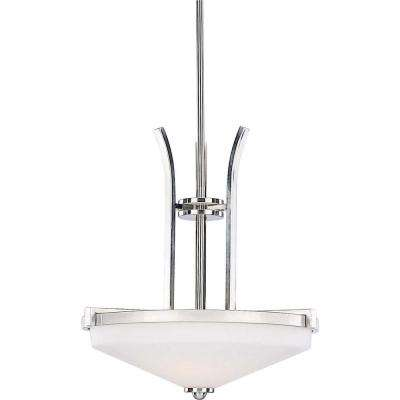 Philippi 4-Light Brushed Nickel Interior Pendant