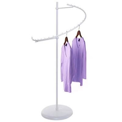 White Metal Clothes Rack (25 in. W x 67 in. H)