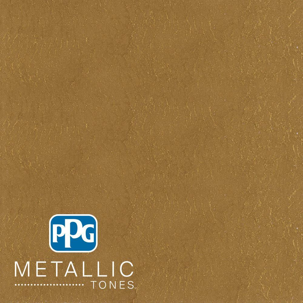 1 qt.#MTL136 Bronzed Ochre Metallic Interior Specialty Finish Paint