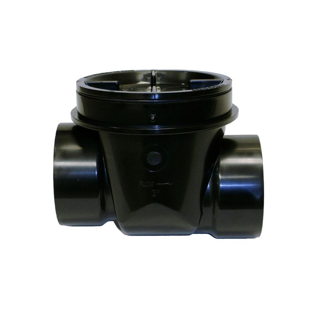 3 in. ABS Backwater Valve