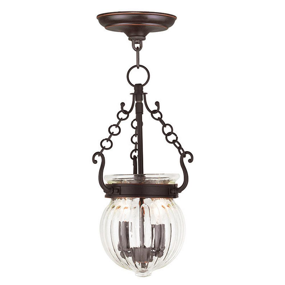 Everett 2-Light Olde Bronze Pendant