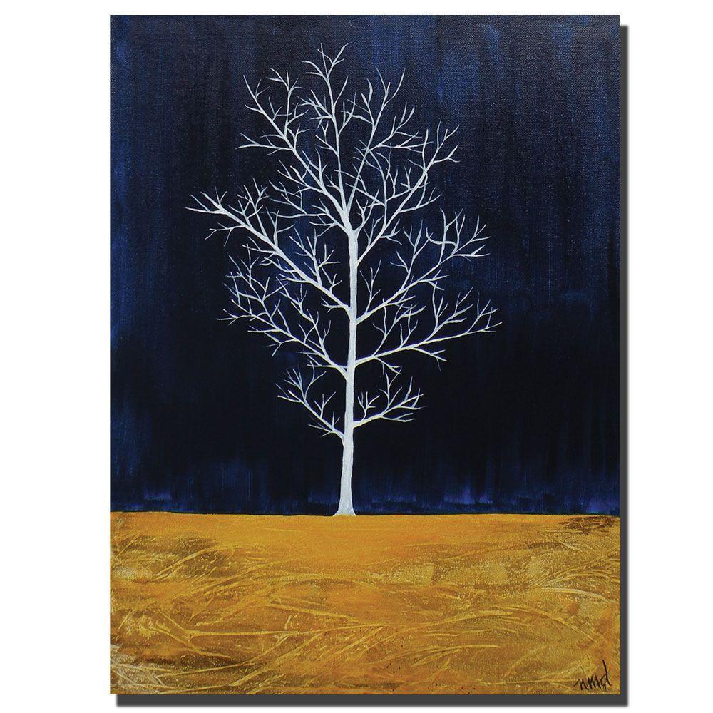 Trademark Fine Art 18 in. x 24 in. White Series I Canvas Art