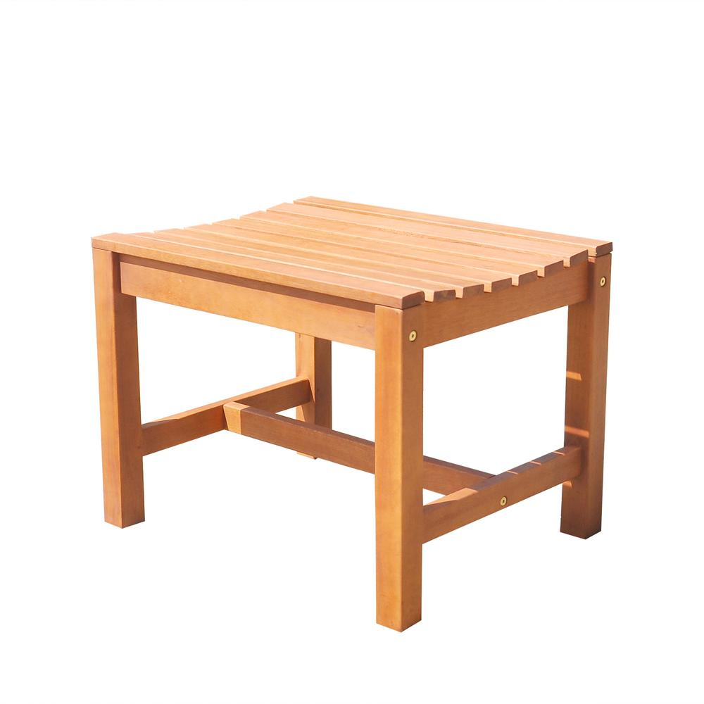 Beau Vifah Malibu Backless Patio Dining Chair