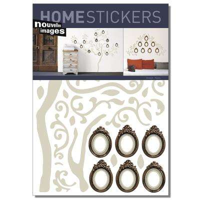 Multicolor Family Tree Home Sticker
