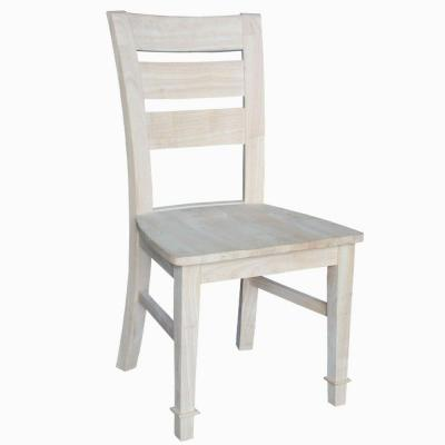Tuscany Unfinished Wood Side Chair (Set of 2)
