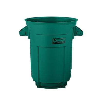 20 Gal. Dark Green Commercial Trash Can