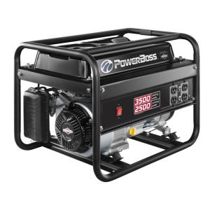 PowerBoss 2,500-Watt Gasoline Powered Recoil Start Portable Generator with Briggs & Stratton Engine by PowerBoss