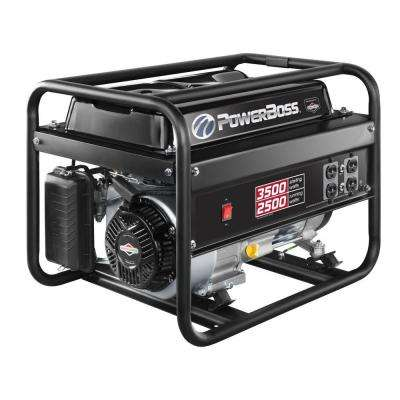 2,500-Watt Gasoline Powered Recoil Start Portable Generator with Briggs & Stratton Engine