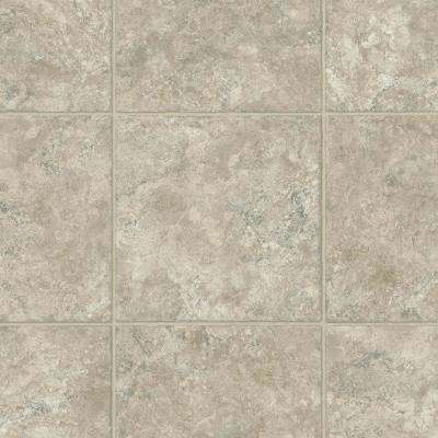 Take Home Sample - Oyster White Residential Vinyl Sheet Flooring - 6 in. x 9 in.