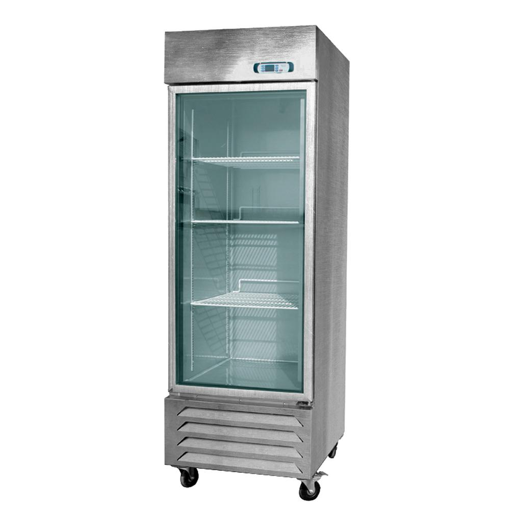 Ge 15 5 Cu Ft Top Freezer Refrigerator In Stainless