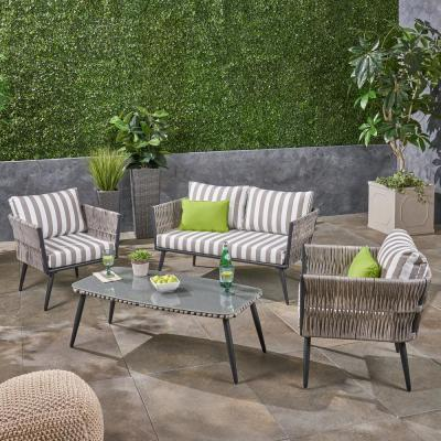 Striped Patio Furniture Outdoors